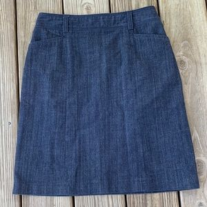 J Crew Stretch Denim Skirt